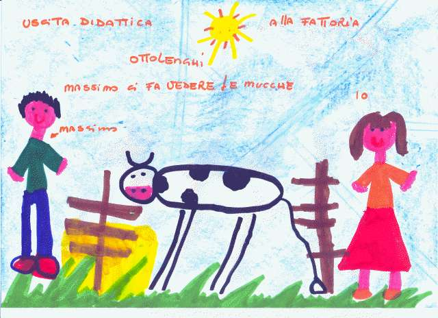 Disegni Fattoria Didattica Realizzati Dai Bambini