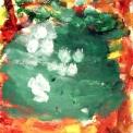 agriturismo con animali per bambini..disegno dei ragazzi del laboratorio di pittura per artisti diversamente abili di parabiago,visita alla fattoria didattica e all'agriturismo