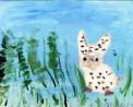 agriturismo con fattoria didattica..disegno dei ragazzi del laboratorio di pittura per artisti diversamente abili di parabiago,visita alla fattoria didattica e all'agriturismo