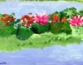agriturismo aperto ai piccoli animali..disegno dei ragazzi del laboratorio di pittura per artisti diversamente abili di parabiago,visita alla fattoria didattica e all'agriturismo