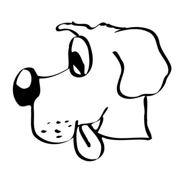 Molto disegno cane da colorare,disegno cagnolino da colorare PT21