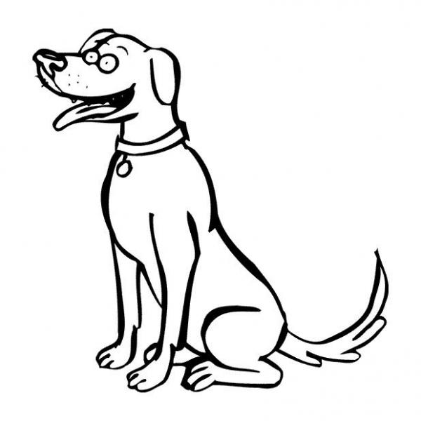 Disegno cagnolino da colorare disegno cane da colorare for Disegni di cani da stampare e colorare