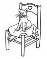 disegno gatto da colorare..disegno gattino da colorare..disegno micetto da colorare..micio da colorare..gattone da colorare