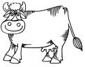 disegno vacca da colorare..disegno mucca in sala di mungitura da colorare..disegno manzetta da colorare