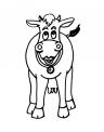 disegno animali della fattoria mucca da colorare..disegno muccona da colorare..disegno latte da colorare