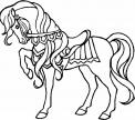 disegno cavallo da circo da colorare..disegno cavallo con bardature da colorare..disegno bellissimo cavallo da colorare..cavallo inglese da colorare
