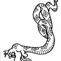 disegno biscia da colorare..disegno serpente nel prato da colorare..disegno cobra da colorare..serpentello da colorare