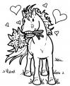 cavallo della fattoria da colorare..disegno cavallo..cavallo al galoppo da colorare..cavallo al trotto da colorare