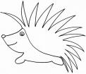 disegno porcospino da colorare..fattoria didattica a gallarate..fattoria didattica a cassano magnago