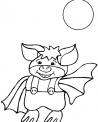 disegno pipistrelli nella notte da colorare...fattorie didattiche in provincia di milano lodi