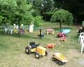 parco giochi per bambini in fattoria da Tullio a B