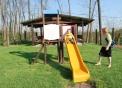 parco giochi per bambini all'agriturismo le balzarine a Fagnano Olona..fattoria didattica con animali a Varese in agriturismo le Balzarine di Fagnano Olona..agriturismo b&b camere vicino a Milano fiera Rho..