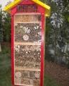 casetta per insetti..casa per insetti api solitarie..casa per osmie e megachile..house solitary bees..
