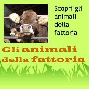 Foto di animali della fattoria