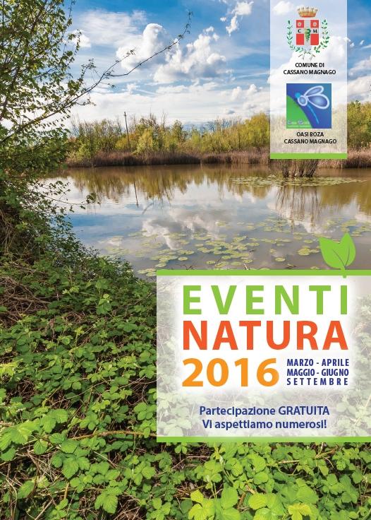 EVENTI NATURA 2016 Cassano Magnago