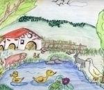 disegni bambini:Giulia Trotti, Cassano Magnago, 12 anni.Disegni della fattoria,fattoria didattica in provincia di varese,disegni animali della fattoria,foto animali della fattoria,disegni colorati dai bambini