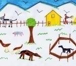 fattoria disegni bambini:Jacopo Massa, Mozzate, 7 anni.Disegni della fattoria,fattorie didattiche della provincia di varese con tanti animali della fattoria,disegni fatti dai bambini,foto animali della fattoria,immagini animali in fattoria,disegni colorat