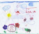 disegni bambini in fattoria didattica :Giulia Calabrò,Somma L.,4 anni.Disegni bambini della fattoria,fattorie didattiche della provincia di varese con tanti animali della fattoria,disegni da colorare della fattoria,disegni della fattoria colorati dai bamb