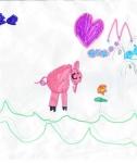 disegni delle fattorie didattiche  bambini:Micol Zaupa,besnate,5 anni.Disegni bambini della fattoria,fattorie didattiche della provincia di varese con tanti animali della fattoria,disegni colorati dai bambini di animali della fattoria,trattori e foto di a
