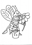 disegno ape da colorare:ape,disegno ape da colorare..disegno ape regina da colorare in fattoria didattica..,agriturismi in provincia di varese,prodotti tipici varese,disegno ape operaia da colorare..disegno alveare da colorare