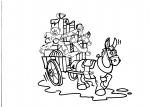 disegni animali della fattoria da colorare:asino,disegno asinello da colorare in fattoria didattica..agrigelateria.. prodotti tipici varesini, agriturismi in provincia di Varese,disegno asino da colorare...disegno somaro da colorare