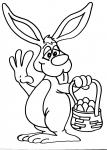 disegni animali della fattoria da colorare:coniglio..disegno coniglietto da colorare in fattoria didattica..disegno coniglio con uova da colorare..disegno coniglietto da colorare...coniglio da colorare..disegno lepre da colorare