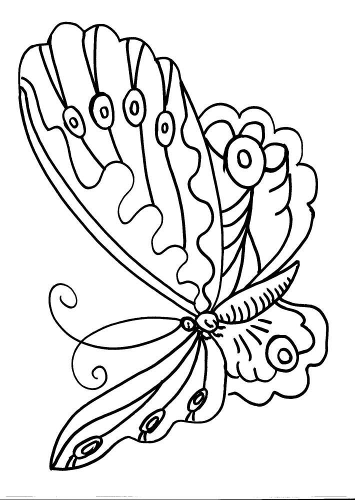 farfalle  farfalline da colorare