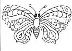 disegni animali da colorare..farfalla..disegno farfalla da colorare infattoria didattica..farfalla da colorare e stampare..disegno farfalline da colorare in volo..farfalla colorata da colorare gratis per bambini