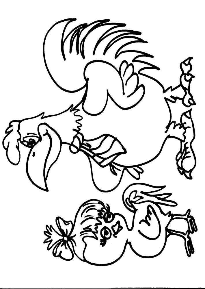 Animali Da Cortile Da Colorare 28 Images Disegno Cortile Da