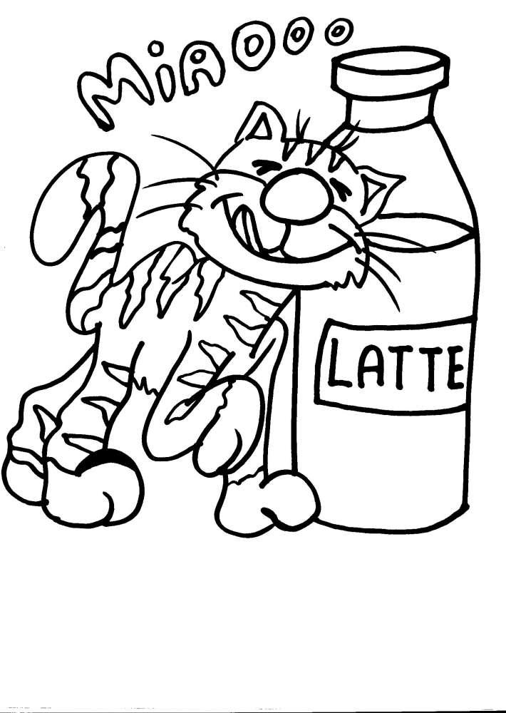 Disegno gatto da colorare gatto gatti disegno da - Stampabili per bambini gratis ...
