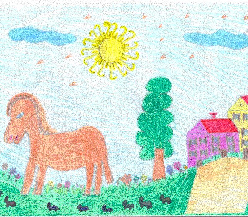 Disegni bambini fattoria disegno di strobino pierluigi for Disegno della fattoria americana