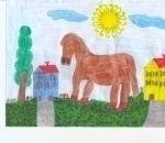 disegni bambini in agriturismo in fattoria disegn