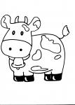 disegni animali della fattoria da colorare:mucca,disegno toro da colorare..disegno mucca da colorare..mucche in campagna da colorare..mucche in fiera da colorare...toro che salta da colorare