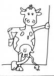 disegni animali della fattoria da colorare:mucca,il vitellino..disegno vitellino da colorare..disegno vitello da colorare..disegno mucca da colorare con vitello che beve il latte..disegno toro grosso da colorare
