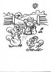 disegni animali della fattoria da colorare:pollaio,nel pollaio disegno pollaio da colorare...disegno tacchino da colorare..pollo da colorare..struzzo in fattoria da colorare...gallinelle e polli con pulcini da colorare