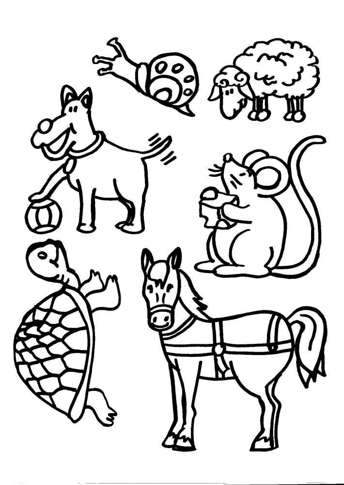 Disegni di mucche car interior design for Disegni da stampare e colorare di cani