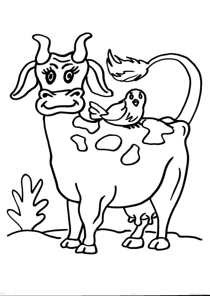 Disegni di animali per bambini nw66 regardsdefemmes - Animali immagini da colorare pagine da colorare ...