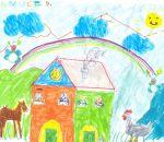 animali in fattoria disegni bambini:Manuel Pepe,anni 5,Cassano M.,la fattoria dell'arcobaleno.Disegni colorati dai bambini della fattoria,disegni per bambini da scaricare e colorare,fattorie didattiche,prodotti tipici varesini,foto animali nella fattoria