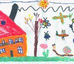 percorso didattico in fattoria disegni bambini:Dario Gattoni,Viggiù,5 anni,Disegni bambini animali della fattoria,fattorie didattiche della provincia di varese,agriturismo in fattoria,animali e foto di animali della fattoria,disegni colorati per bambini