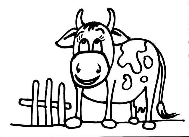 Animali della fattoria disegni per bambini stampare for Planimetrie tradizionali della fattoria